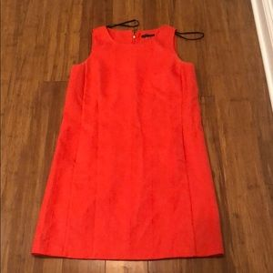Bright Orange straight Tommy Hilfiger dress